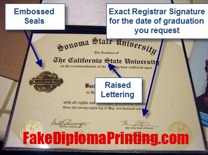 The Best Fake Diploma Printing Service