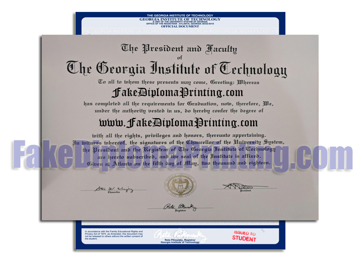 Fake Diplomas, Novelty Transcripts and College Degree