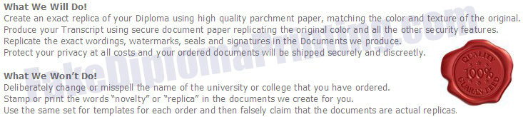 Fake Diploma College and University List
